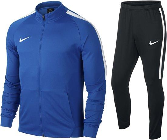 216b563baa6 bol.com | Nike Football Trainingspak Heren - Maat L - Blauw/Zwart/Wit