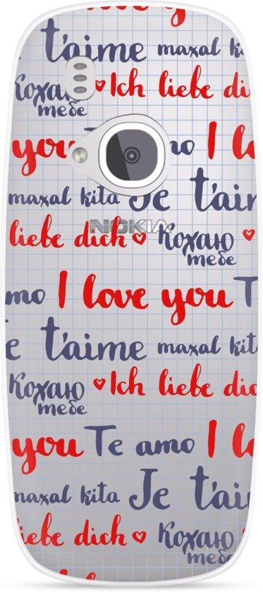 Nokia 3310 (2017) Hoesje I Love you