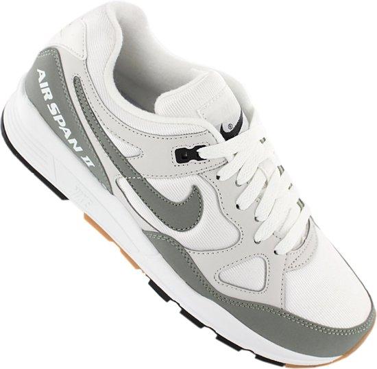 Nike Air Span Ii Sneakers Dames Beige/groen Maat 37 5 zKsMdFbf