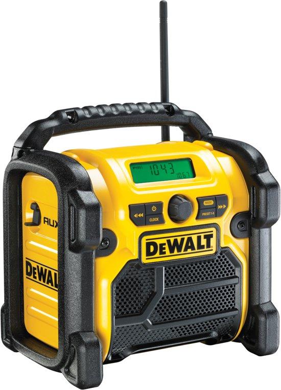 DeWALT DCR019-QW Draagbaar Zwart, Geel radio (zonder accu)