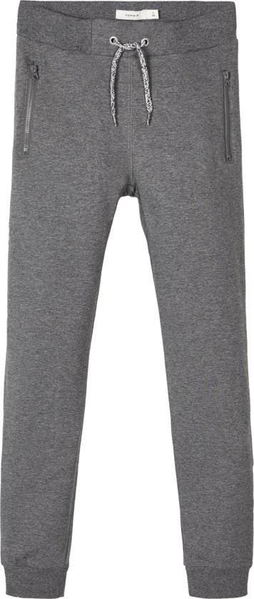 Name it Jongens Broek - Dark Grey M - Maat 146