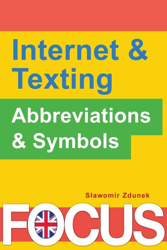 Bol Internet Texting Abbreviations Symbols Ebook