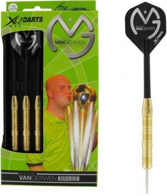 XQ-Max Michael van Gerwen Brass darts, 23 gram