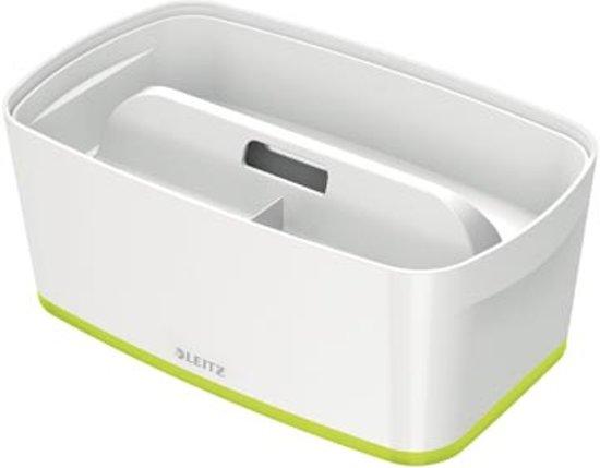 Leitz MyBox® Opbergdoos - Klein met deksel -  Groen/Wit