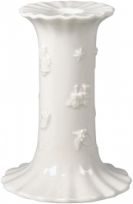 Villeroy & Boch Toy's Delight Kaarsenhouder Porselein 12 cm Wit
