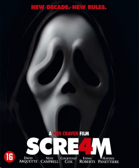 Cover van de film 'Scream 4'