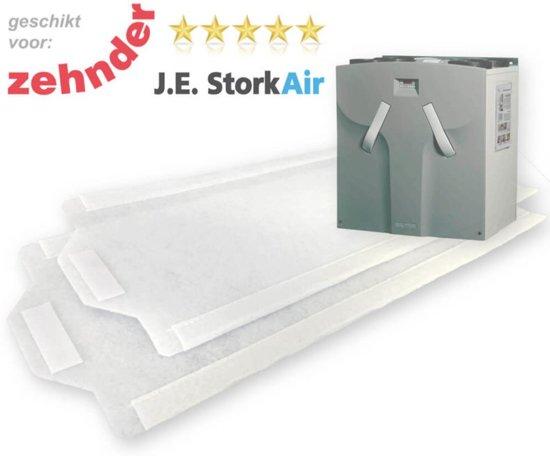 WHR 950/960 FIJN-filters [M6] voor Zehnder JE StorkAir | DoosVoordeel 5 sets WTW Filters
