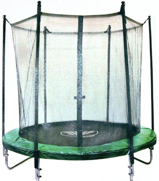 Trampoline Set Groen 180cm