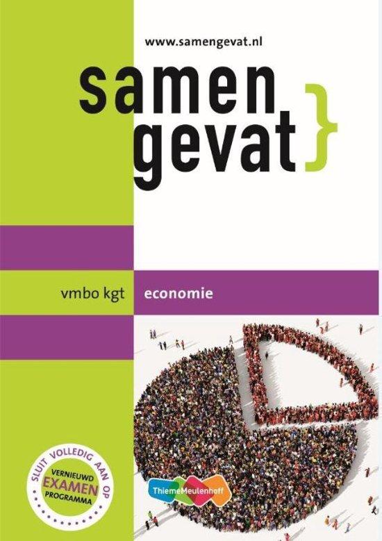Samengevat vmbo-kgt Economie - Examenmateriaal