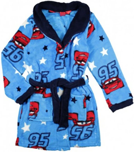 2faf4313896ef4 Cars blauwe fleece badjas maat 98-110/ 3-5 jaar. Bekijk video. Merk: Disney
