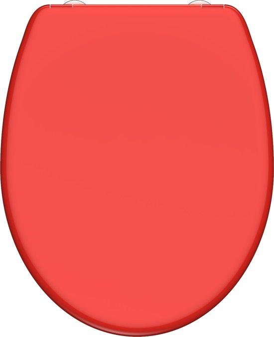 Remarkable Schutte Wc Bril 82308 Red Duroplast Soft Close Afklikbaar Rvs Scharnieren Gelakt Rood Machost Co Dining Chair Design Ideas Machostcouk