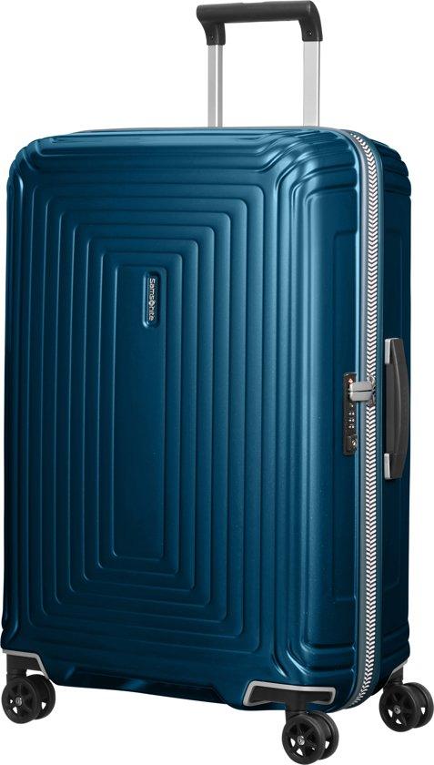 Samsonite Neopulse Lifestyle Spinner Reiskoffer (Medium) - 74 liter - Dark Blue