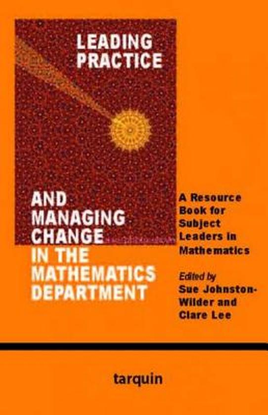 leading and managing changes Leading organizational change: major changes are best be done in the context of • outline a partial plan for managing a change.