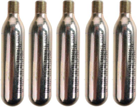 Roto Co2-patronen Met Schroefdraad 12 Gram 5 Stuks