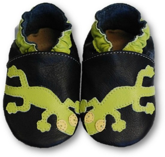 Fiorino babyslofjes Classic zwart kikker
