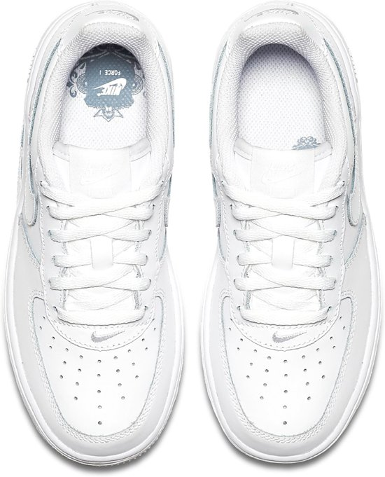 24c1f8a7ade bol.com | Nike Air Force 1 (PS) Sneakers Kinderen - White/White-White