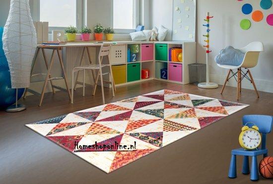 Vloerkleed Rhapsody Venice Laagpolig Tapijt Multicolour Carpet - 120 x 170 cm