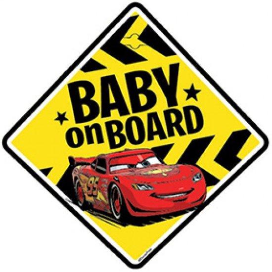 Cars Baby On Board Bordje