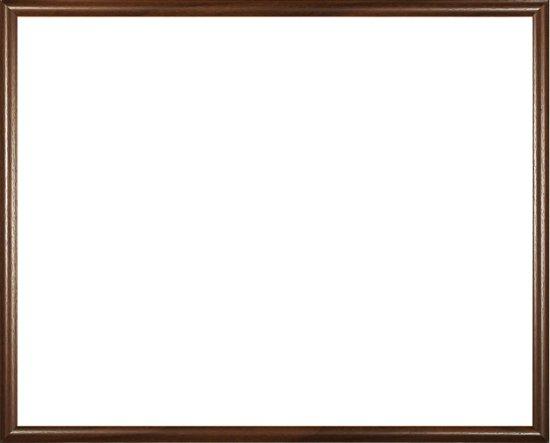 Homedecoration Biggy – Fotolijst – Fotomaat – 68 x 74 cm – Kunststof – Bruin met houtstructuur