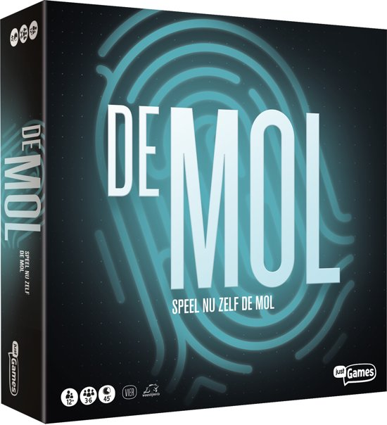 Wie is De Mol België - Bordspel