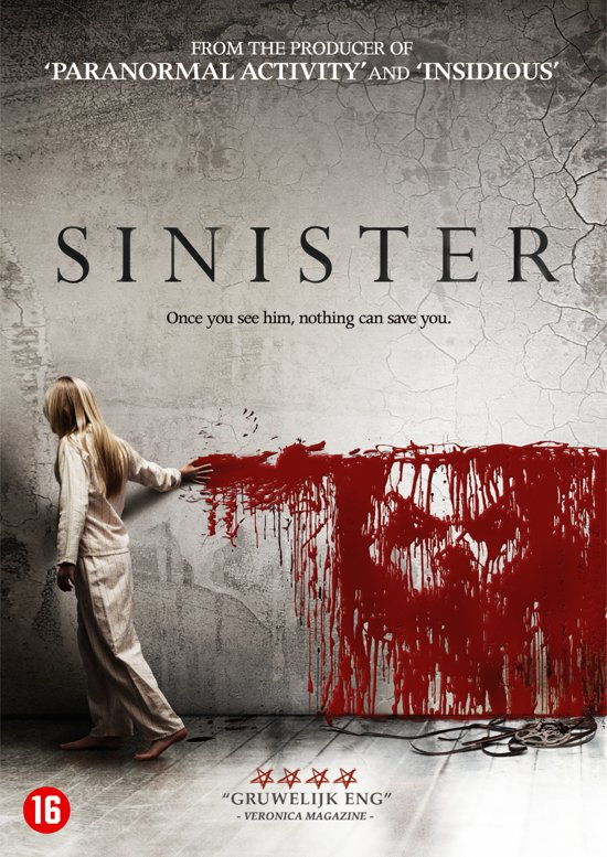 DVD cover van Sinister