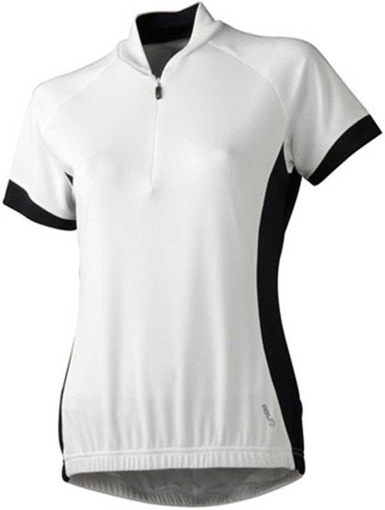 Agu Amanta - Sportshirt -  Dames - Maat XL - Wit;Zwart