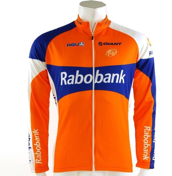 S RabobankSportshirt Sleeve Heren Orange;blue;white Agu Maat Long sQdtrh