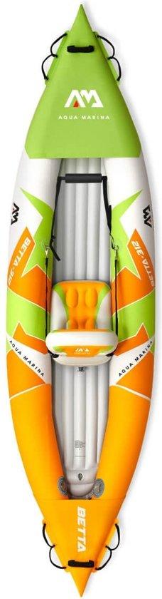 Aqua Marina Opblaasbare kajak Betta HM K0 voor 1 persoon meerkleurig