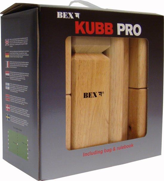 Bex Sport Pro Kubb Blanco Koning - Rubberhout