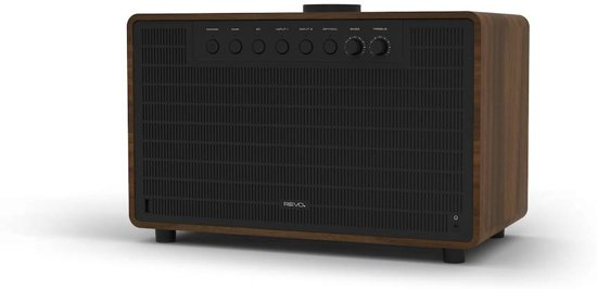 Revo Radio SUPERTONE - Bluetooth Speaker - Walnoot/Zwart