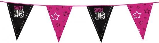 Sweet 16 vlaggenlijn