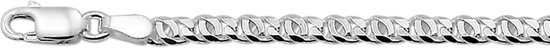 The Jewelry Collection Armband Valkenoog 3,3 mm 19 cm - Zilver