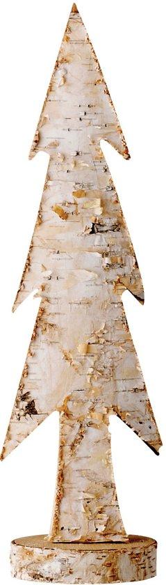 Bloomingville - Houten Kerstboom - Hout - H 32 cm - Blank/Berk