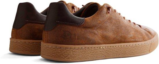 J vancampen 44 Nogrz Cognac Leer Heren Brushed Sneaker Maat Bxq5CwZq