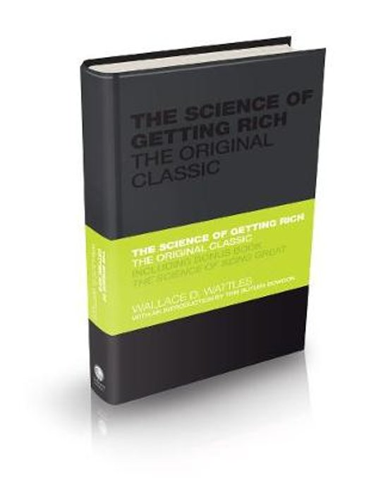 Boek cover The Science of Getting Rich - the Original Classic van Wallace Wattles (Hardcover)
