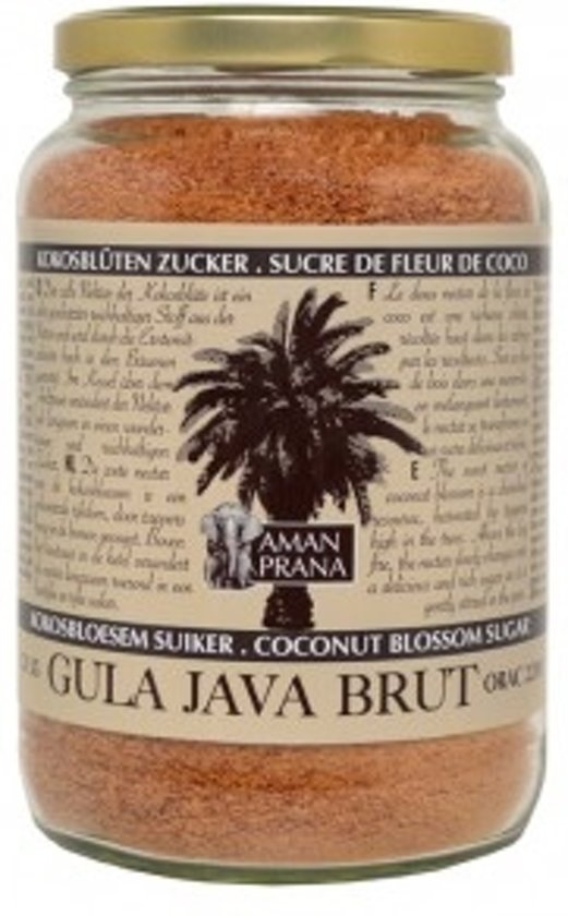 Aman Prana Gula Java Brut - 310 gram - Voedingssupplement