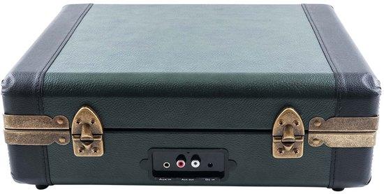 GPO Ambassador Bluetooth Draadloze Platenspeler Groen