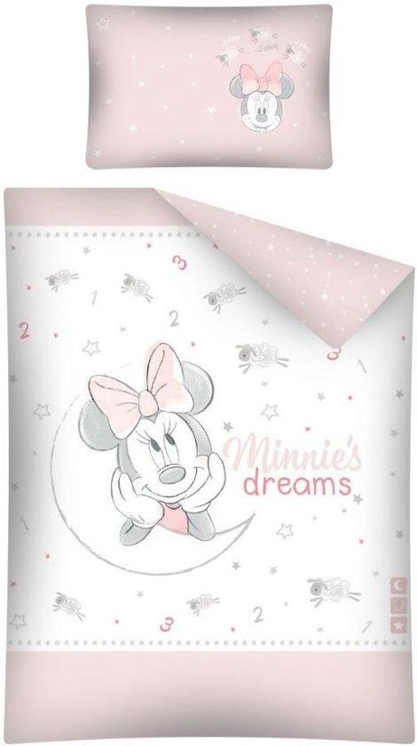Baby Dekbedje Minnie Mouse 100 x 135 cm