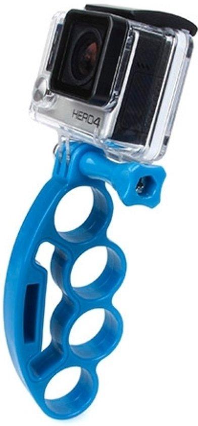 TMC Knuckles vingers Grip met duim schroeven voor GoPro Hero 4 / 3 + / 3 / 2(blauw)
