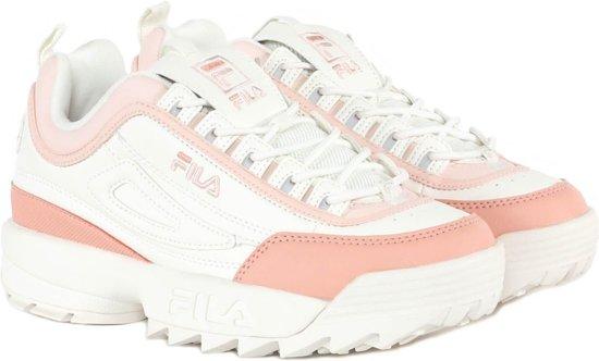 Fila Disruptor CB Low Wmn 1010604-02W, Vrouwen, Wit, Sneakers maat: 37 EU