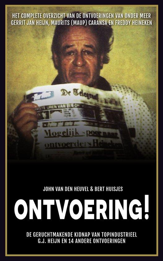 Boek cover Ontvoering! van John van den Heuvel (Onbekend)
