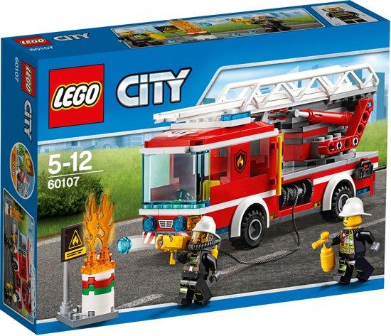 LEGO City Brandweer Ladderwagen - 60107
