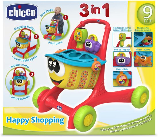 Chicco Happy Shopping Loopwagen - Babywalker