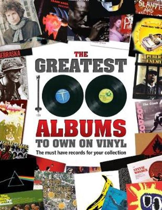 Boek cover The Greatest 100 Albums to own on Vinyl van Sona Books (Hardcover)