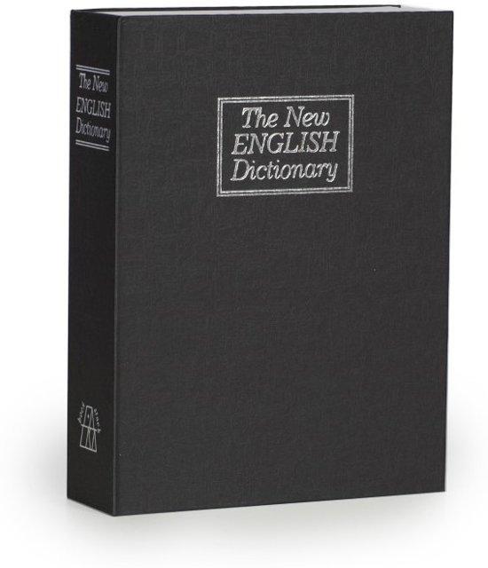 boek kluis engels woordenboek zwart large