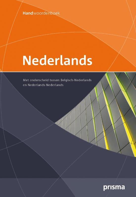 Prisma handwoordenboek Nederlands-Belgisch
