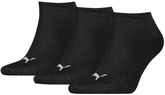 Puma enkel 3 paar sokken zwart