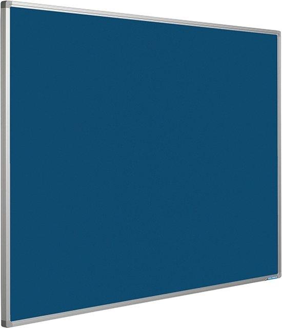 Prikbord Softline profiel 16mm bulletin Blauw