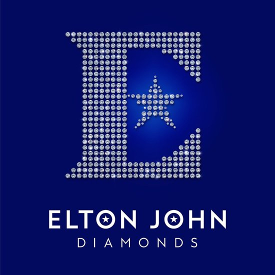 CD cover van Diamonds van Elton John