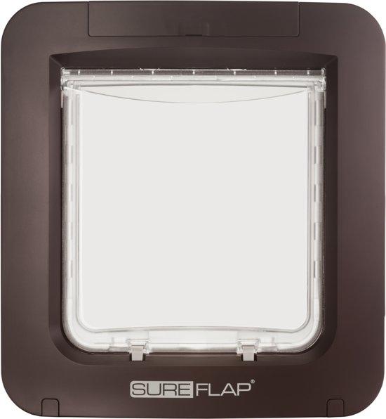 SureFlap Microchip Huisdierluik L - Bruin - 18 x 17 cm